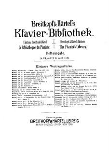 Barkarole, Op.63: Für Klavier by Gustav Adolf Merkel