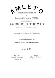Amleto: Amleto by Ambroise Thomas