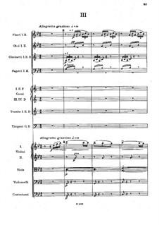 Teil III: Vollpartitur by Antonín Dvořák