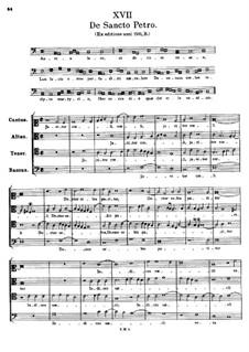 De Santo Petro. Aurea luce, et decore roseo: De Santo Petro. Aurea luce, et decore roseo by Tomás Luis de Victoria