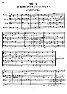 In Festis Beatae Mariae Virginis. Ave, maris stella: In Festis Beatae Mariae Virginis. Ave, maris stella by Tomás Luis de Victoria