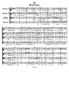 Benedicam Dominum in omni tempore: Benedicam Dominum in omni tempore by Tomás Luis de Victoria