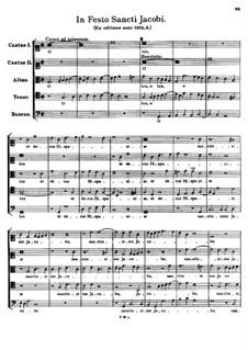 In Festo Sancti Jacobi. O lux, et decus Hispaniae: In Festo Sancti Jacobi. O lux, et decus Hispaniae by Tomás Luis de Victoria