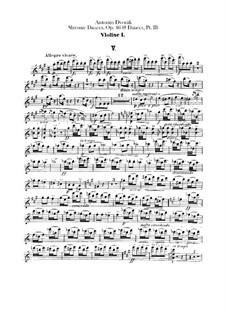 Heft II: Violinstimme I by Antonín Dvořák