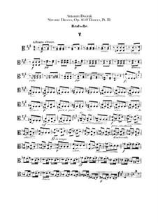 Heft II: Violastimme by Antonín Dvořák