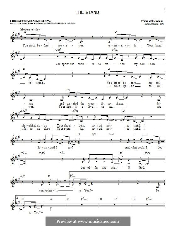 The Stand: Melodische Linie by Joel Houston