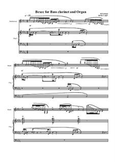 Bexec for Bass Clarinet and Organ, MVWV 1047: Bexec for Bass Clarinet and Organ by Maurice Verheul
