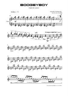 Boogeyboy, Op.40 No.8: Boogeyboy by Alexander Khodakovsky