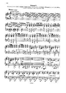Libusa, T.107: Akt III, Slavnostni pochod, für Klavier by Bedřich Smetana