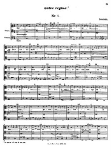 Salve regina misericoriae: Salve regina misericoriae by John Dunstable