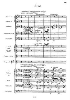 Nr.8 Sousedská: Vollpartitur by Antonín Dvořák