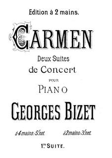 Erste Suite: Klavierauszug by Georges Bizet