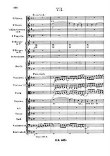 Ein deutsches Requiem, Op.45: Teil VII by Johannes Brahms