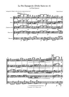 Dolly Suite, Op.56: No.6 Le Pas Espagnole by Gabriel Fauré