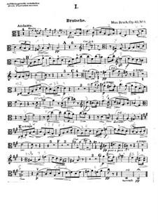Acht Stücke, Op.83: Violastimme by Max Bruch