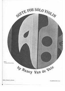 Suite: For solo violin by Nancy Van de Vate