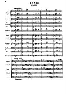 Sinfonie Nr.1 in c-Moll, WAB 101: Teil IV by Anton Bruckner