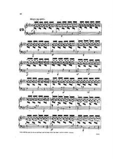 Tausig Ausgabe: Etüde Nr.29 by Muzio Clementi