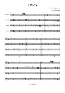 O for a Thousand Tongues to Sing: For string quartet by folklore