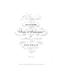Divertissement über Themen aus 'Lucia di Lammermoor' von Donizetti, Op.9: Divertissement über Themen aus 'Lucia di Lammermoor' von Donizetti by Napoléon Coste
