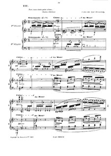 En blanc et noir (In Black and White), L.134: Teil III by Claude Debussy