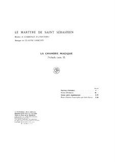 Das Martyrium des Heiligen Sebastian, L.124: Akt II. Präludium by Claude Debussy