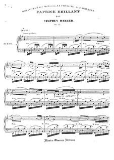 Caprice Brillant über Lied von F. Schubert, Op.55: Caprice Brillant über Lied von F. Schubert by Stephen Heller