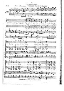 Vollständige Oper: Akt I, Klavierauszug mit Singstimmen by Daniel Auber