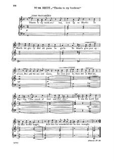 Judas Makkabäus, HWV 63: How vain is man! Recitative and aria for tenor by Georg Friedrich Händel