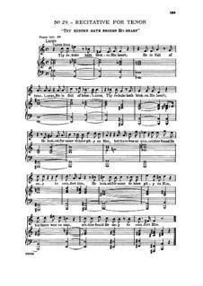 Nr.30 Schau hin und sieh: Recitative and aria for tenor by Georg Friedrich Händel