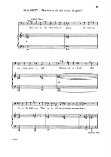 Judas Makkabäus, HWV 63: Pious Orgies, Pious Airs. Recitative and Aria for bass by Georg Friedrich Händel