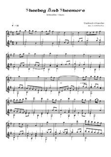 Sheebeg and Sheemore: For guitar and alto recorder by Turlough O'Carolan