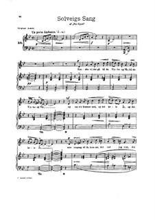 Selected Themes, Op.23: Nr.11, 17, 23, für Stimme und Klavier by Edvard Grieg
