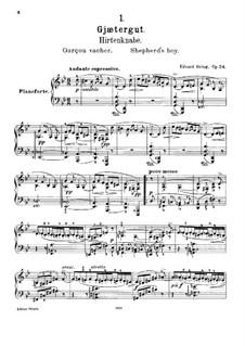 Lyrische Stücke, Op.54: Vollsammlung by Edvard Grieg