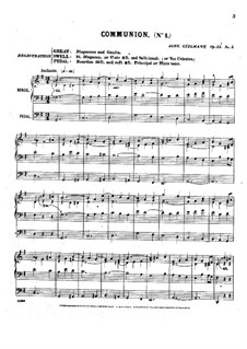 Pièces dans different styles for Organ: Buch 1, Op.15 by Alexandre Guilmant