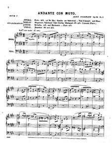 Pièces dans different styles for Organ: Heft 2, Op.16 by Alexandre Guilmant