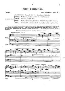 Pièces dans different styles for Organ: Heft 6, Op.20 by Alexandre Guilmant