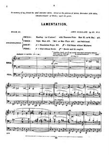 Pièces dans different styles for Organ: Heft 12, Op.45 by Alexandre Guilmant