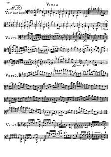 Zwölf Etüden für Bratsche: Etüde Nr.5 by Franz Anton Hoffmeister