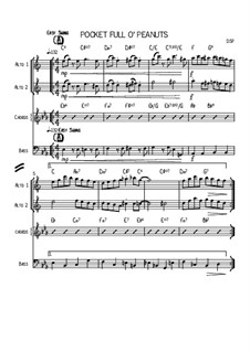 Two Duets For Alto Saxophones: Two Duets For Alto Saxophones by David Stephen Powell