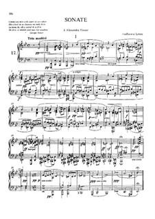 Sonate für Klavier in g-Moll: Sonate für Klavier in g-Moll by Guillaume Lekeu