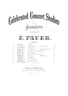 Grosse Etüden nach Paganini, S.141: Nr.3 in gis-Moll (mit Fingersatz) by Franz Liszt