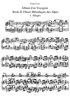 Tagebüch eines Wanderers, S.156: Heft II by Franz Liszt