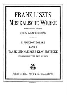 Grosser Bravour-Walzer, S.209: Für Klavier by Franz Liszt