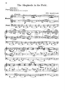 Christi Fødsel (Die Geburt Christi), Op.48: Nr.1 Hyderne paa Marken (Die Hirten auf dem Felde)  by Otto Malling