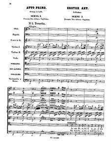 Vollständige Satz: Akt I by Wolfgang Amadeus Mozart
