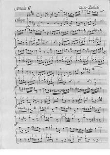 Sechs Sonaten für Flöte und Basso Сontinuo: Sechs Sonaten für Flöte und Basso Сontinuo by Ludwig Albert Friedrich Baptiste