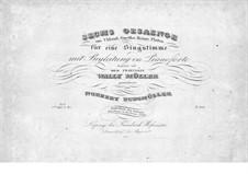 Sechs Lieder, Op.3: Sechs Lieder by Norbert Burgmüller