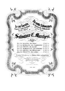 Sechs Schwestern. Nr.6 'Die Lustige': Sechs Schwestern. Nr.6 'Die Lustige' by Salvatore Marchesi