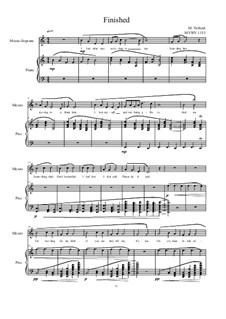 Songs of love for Mezzo and Piano No.6, MVWV 1153: Songs of love for Mezzo and Piano No.6 by Maurice Verheul